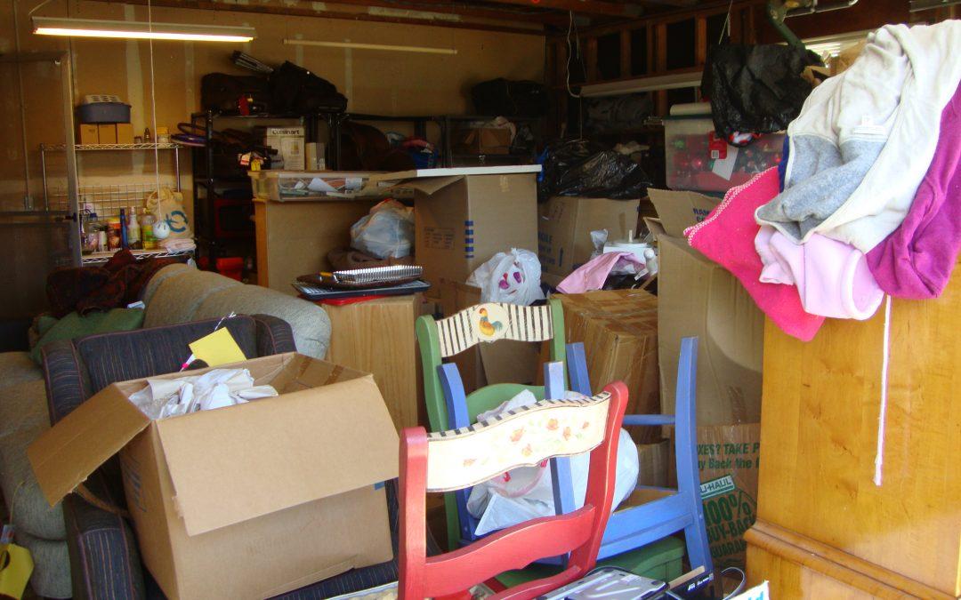 garage - disorganized