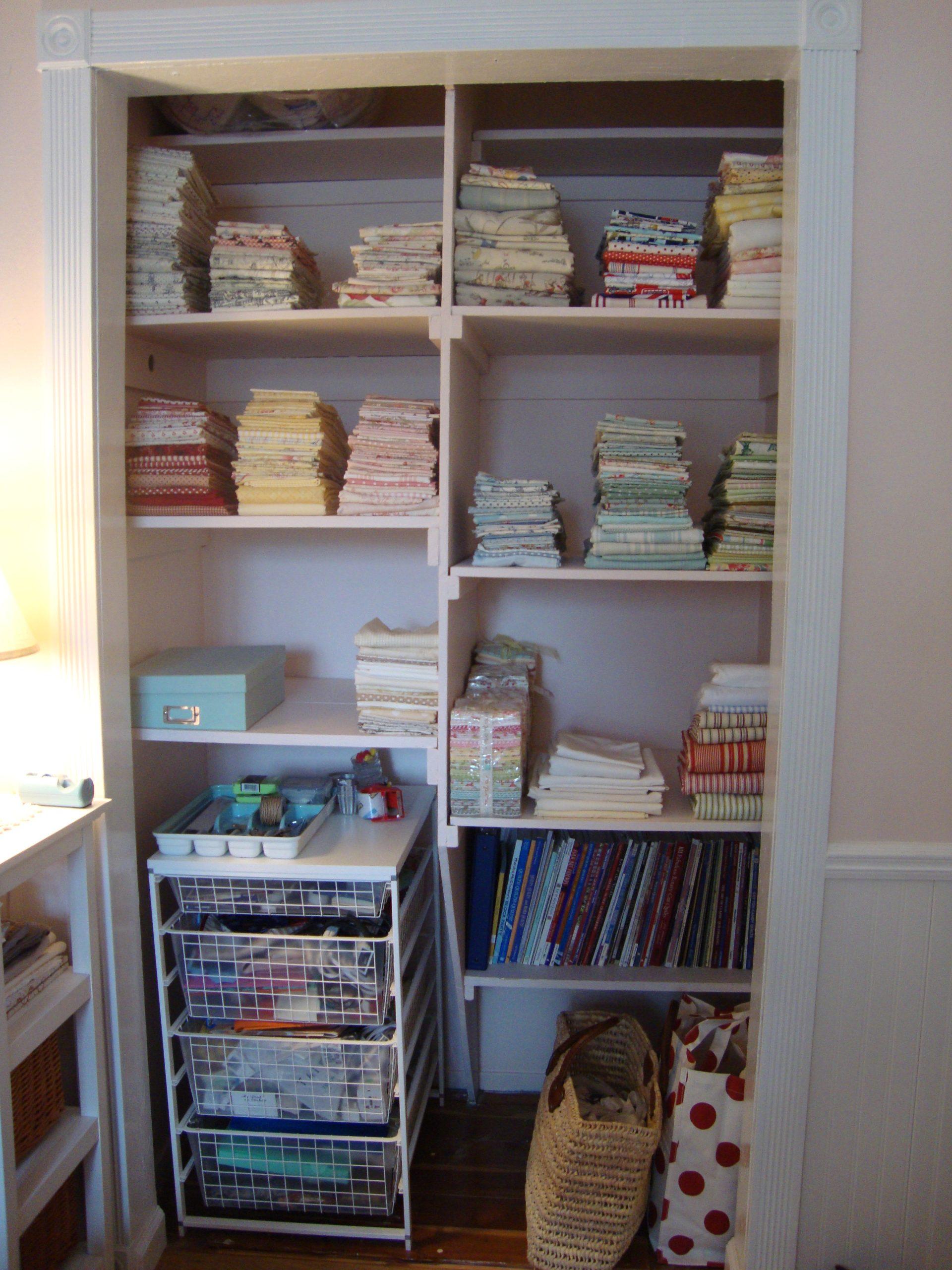 craft closet after