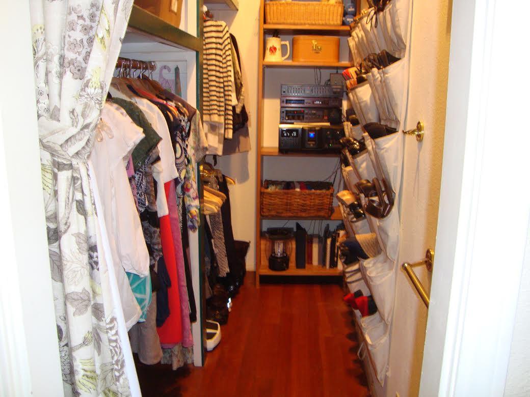 closet - organized