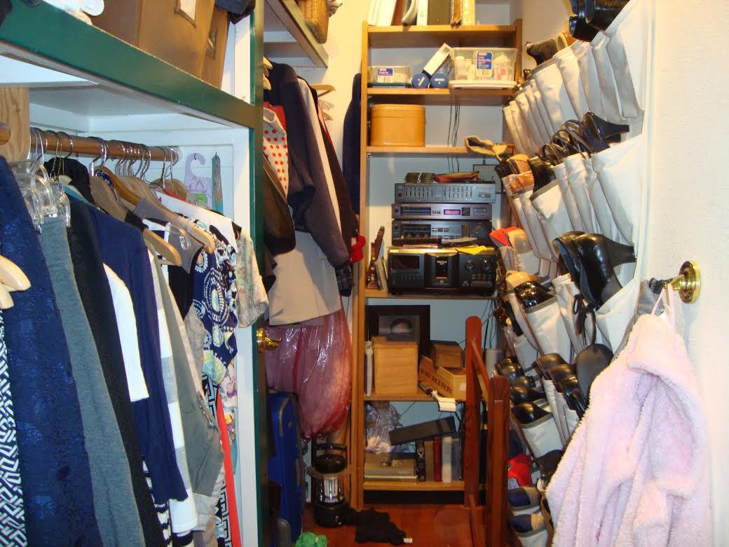 closet - disorganized